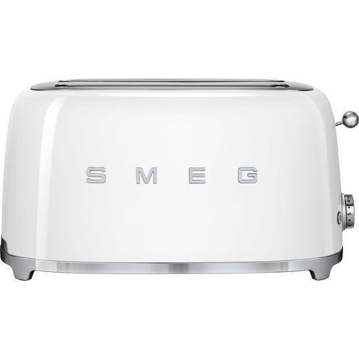 Smeg 50's Retro TSF02WHUK 4 Slice Toaster - White