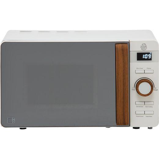 Swan Nordic SM22036WHTN 20 Litre Microwave - White