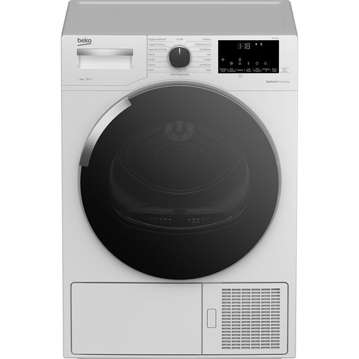 Beko DHY9P46W 9Kg Heat Pump Tumble Dryer - White - A++ Rated
