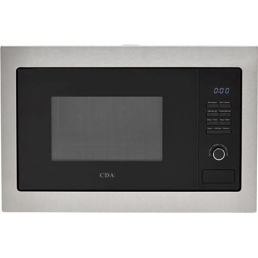 CDA VM231SS Built In Microwave With Grill - Stainless Steel