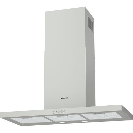 Hisense CH9T4BXUK Chimney Cooker Hood - Stainless Steel - C Rated