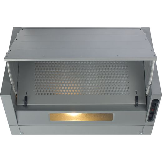 CDA EIN60SI 60 cm Integrated Cooker Hood - Silver - B Rated