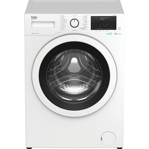 Beko WEY106052W 8Kg Washing Machine with 1600 rpm - White - B Rated