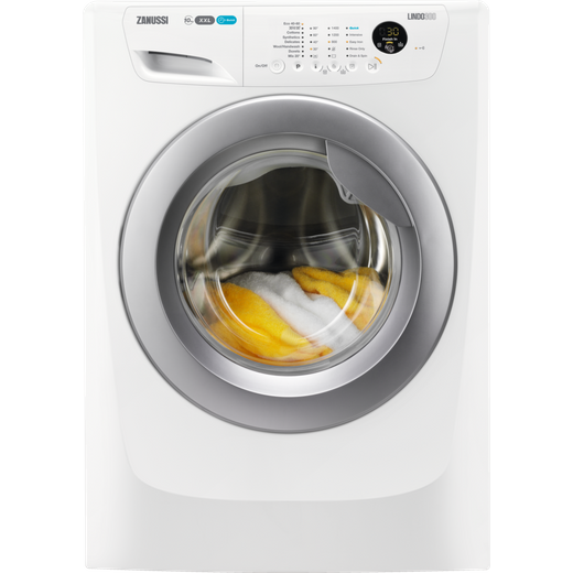 Zanussi Lindo300 ZWF01483WR 10Kg Washing Machine with 1400 rpm - White - D Rated
