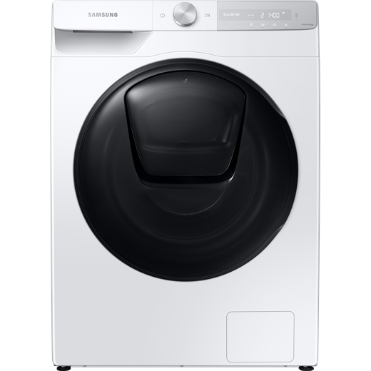Samsung Series 8 QuickDrive™ AddWash™ WW80T854DBH Wifi Connected 8Kg Washing Machine with 1400 rpm - White - A Rated