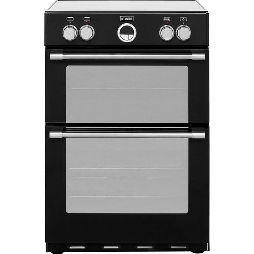 Stoves Sterling600MFTi 60cm Electric Cooker with Induction Hob - Black - A/A Rated