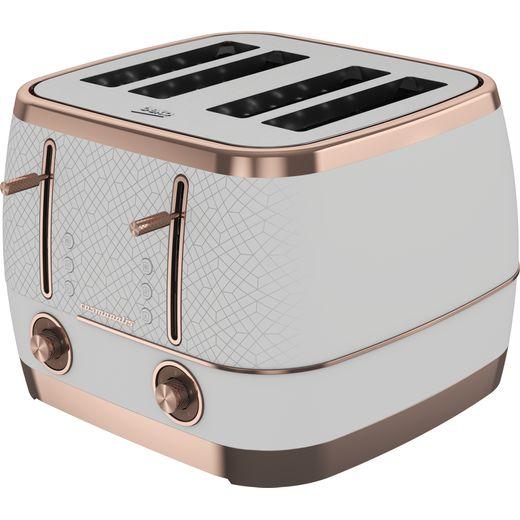 Beko TAM8402W 4 Slice Toaster - White