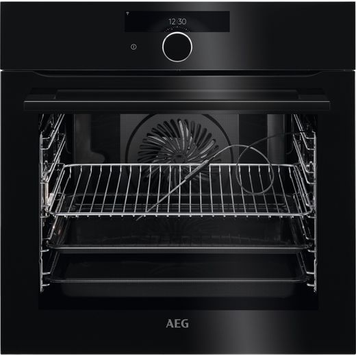 AEG BPK948330B Built In Electric Single Oven - Black - A+ Rated