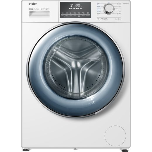 Haier HW80-B14876N 8Kg Washing Machine with 1400 rpm - White - A Rated