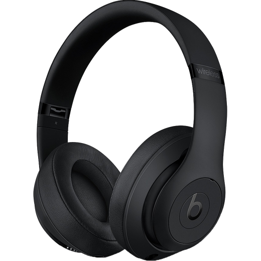 Beats Studio3 Over-Ear Wireless Bluetooth Headphones - Matt Black