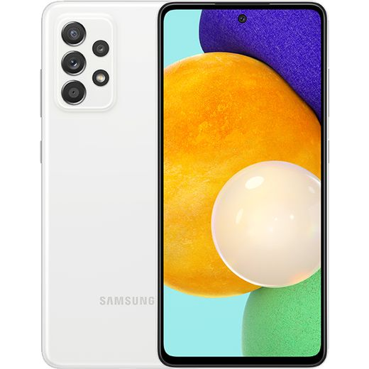 Samsung Galaxy A52 5G 128GB in Awesome White