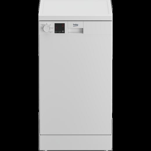 Beko DVS05R20W Slimline Dishwasher - White - E Rated