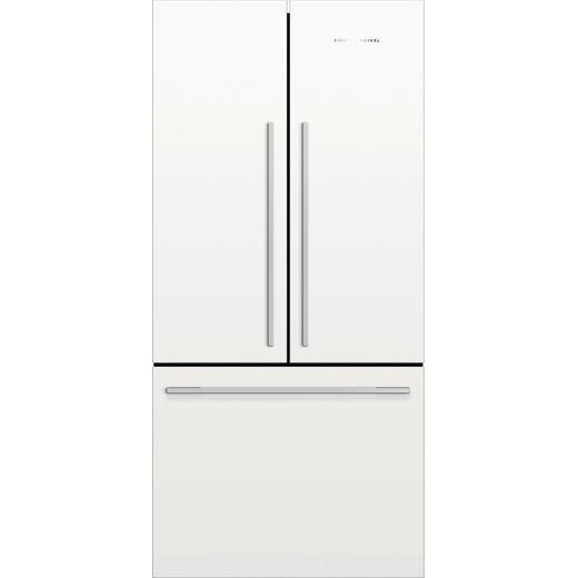 Fisher & Paykel RF522ADW5 American Fridge Freezer - White - F Rated