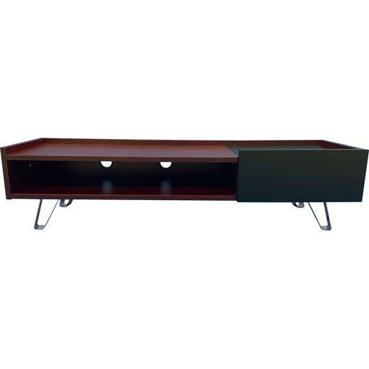 Alphason ADBE1500ELM 0 Shelf TV Stand - Brown