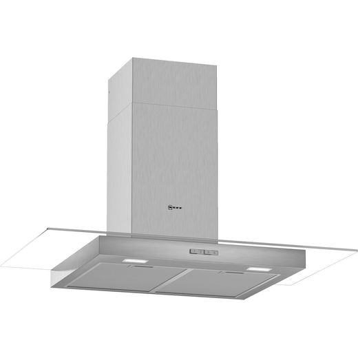 NEFF N30 D94GBC0N0B 90 cm Chimney Cooker Hood - Stainless Steel - A Rated