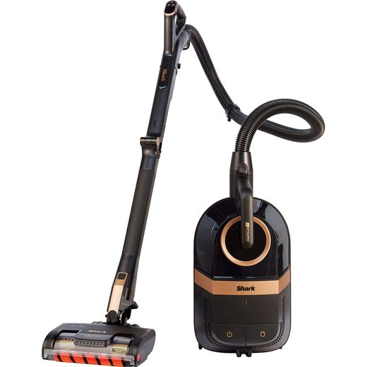 Shark Dynamic Technology with Anti-Hair Wrap & DuoClean CZ500UKT Cylinder Vacuum Cleaner