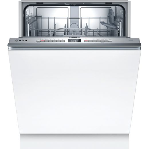 Bosch Serie 4 SGV4HVX38G Fully Integrated Standard Dishwasher - Stainless Steel Control Panel - D Rated