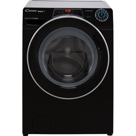 Candy Rapido RO14116DWMCBE Wifi Connected 11Kg Washing Machine with 1400 rpm - Black - A Rated