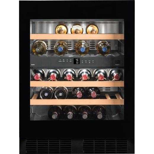 Liebherr UWTgb1682 Built In Wine Cooler - Black / Glass - G Rated