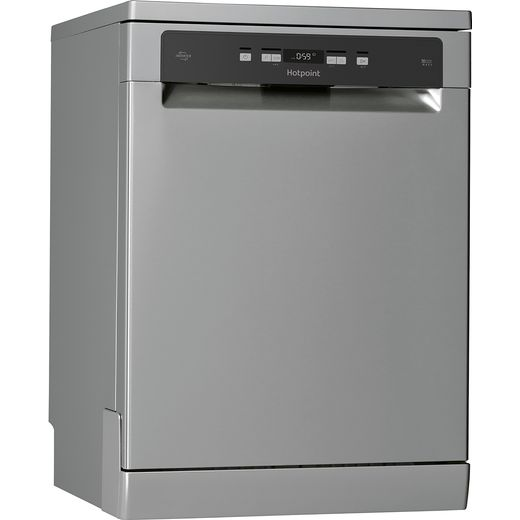 Hotpoint HFC3C26WCXUK Standard Dishwasher - Silver - A++ Rated
