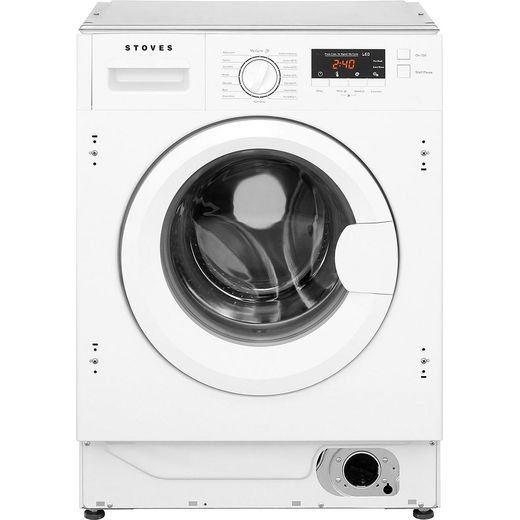 Stoves IWM8KG Integrated 8Kg Washing Machine with 1400 rpm - White - B Rated