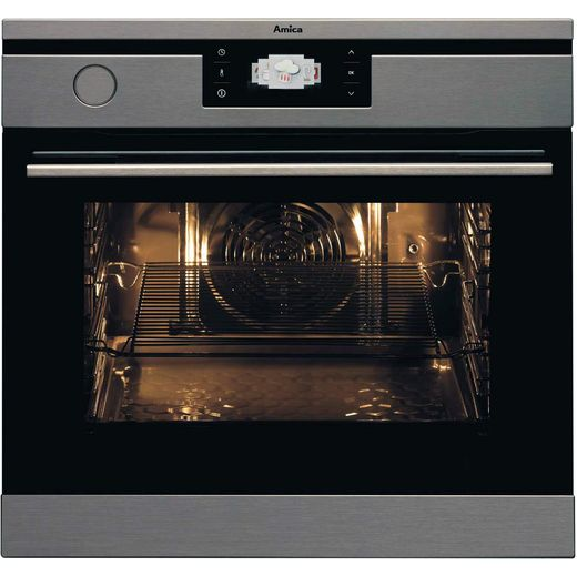 Amica 1143.3TpX Built In Electric Single Oven - Stainless Steel