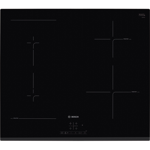 Bosch Serie 4 PWP631BF1B Built In Induction Hob - Black