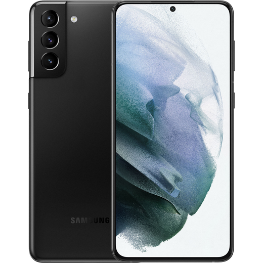 Samsung Galaxy S21+ 5G 128GB Smartphone in Phantom Black