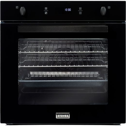 Stoves SEB602F Built In Electric Single Oven - Black - A Rated
