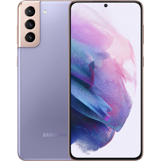 Samsung Galaxy S21+ 5G 128GB Smartphone in Phantom Violet