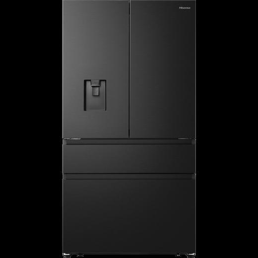 Hisense RF749N4WFF American Fridge Freezer - Black - F Rated
