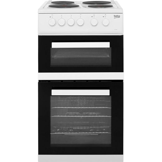 Beko KD533AW Electric Cooker - White - Needs 9.3KW Electrical Connection