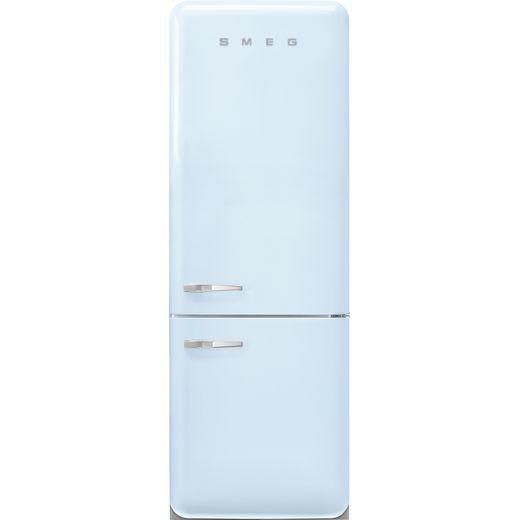 Smeg Right Hand Hinge FAB38RPB5 70/30 Frost Free Fridge Freezer - Pastel Blue - E Rated