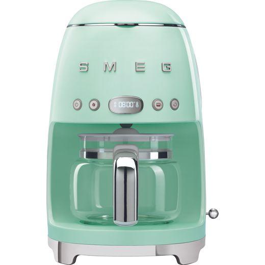 Smeg 50's Retro DCF02PGUK Filter Coffee Machine with Timer - Pastel Green