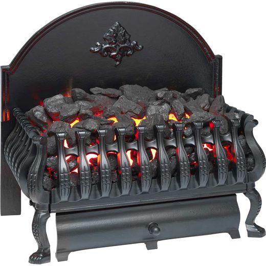 Burley Cottesmore 224BL Coal Bed Basket Fire - Black