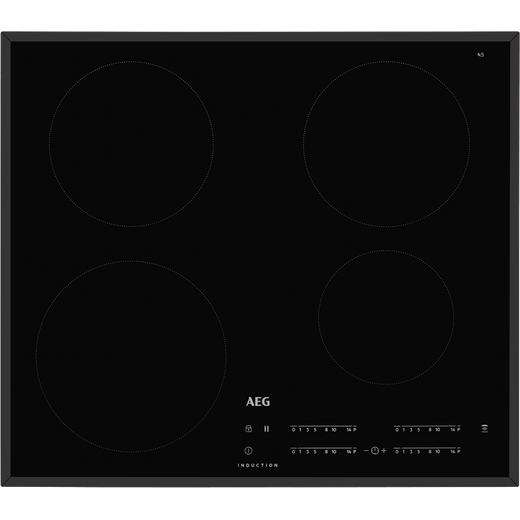 AEG IKB64401FB 59cm Induction Hob - Black