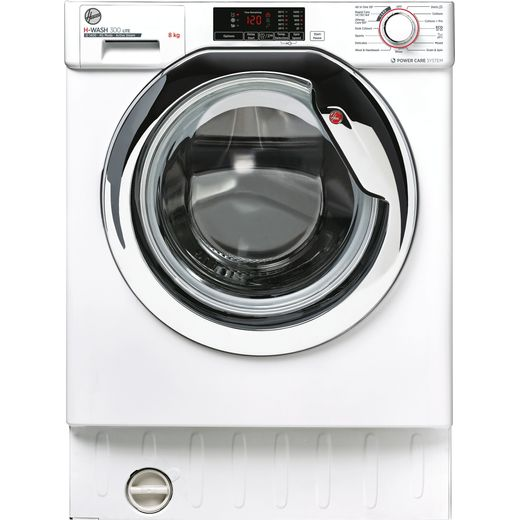 Hoover HBWS48D1ACE Integrated Washing Machine with 1400 rpm - White - C Rated