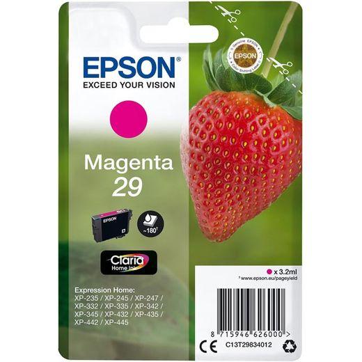 Epson Strawberry Singlepack Magenta 29 Claria Home Ink