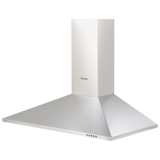 Candy CCE119/1X 90 cm Chimney Cooker Hood - Stainless Steel - C Rated