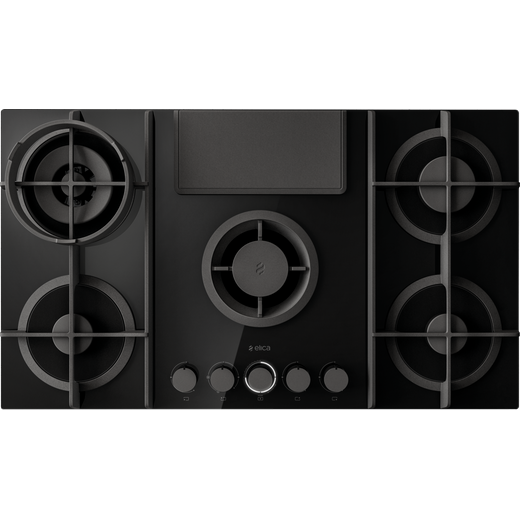 Elica NT-FLAME BG RC Built In Gas Hob - Black