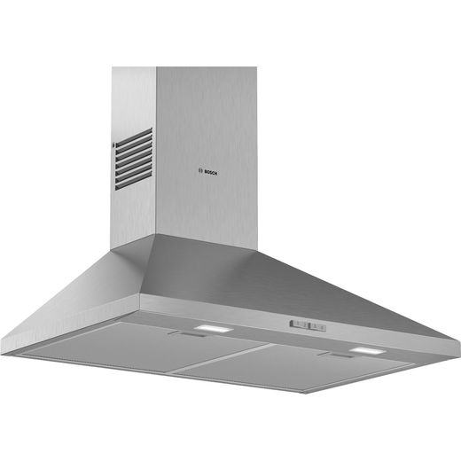 Bosch Serie 2 DWP74BC50B 75 cm Chimney Cooker Hood - Stainless Steel - D Rated