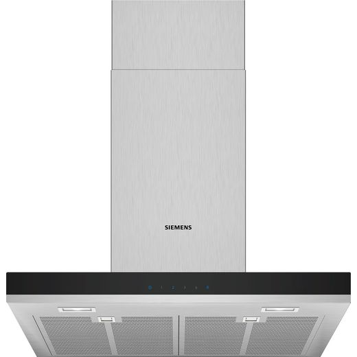 Siemens IQ-300 LC67BHM50B 60 cm Chimney Cooker Hood - Stainless Steel - B Rated