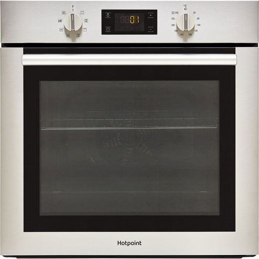 Hotpoint SA4544HIX Built In Electric Single Oven - Stainless Steel - A Rated