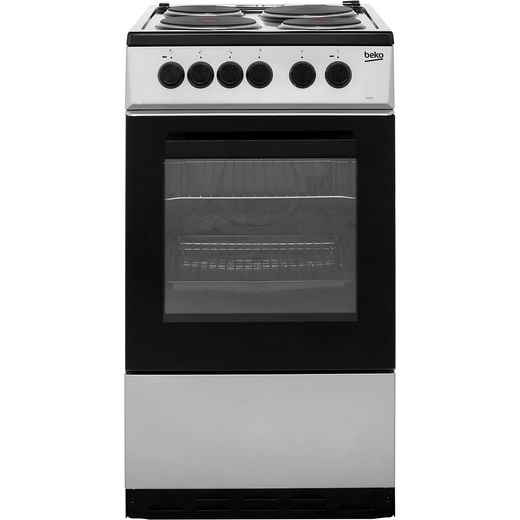Beko KS530S Electric Cooker - Silver - Needs 7.9KW Electrical Connection