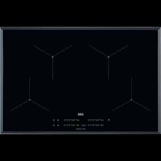 AEG IAE84411FB 78cm Induction Hob - Black