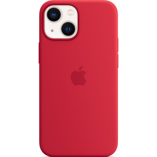 Apple Silicone Case for iPhone 13 Mini - (PRODUCT) RED
