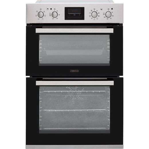 Zanussi ZOD35802XK Built In Electric Double Oven - Stainless Steel - A/A Rated