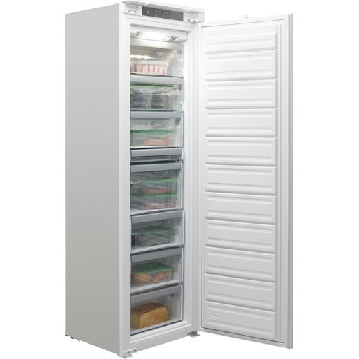 Whirlpool AFB18431 Integrated Frost Free Upright Freezer with Sliding Door Fixing Kit - F Rated