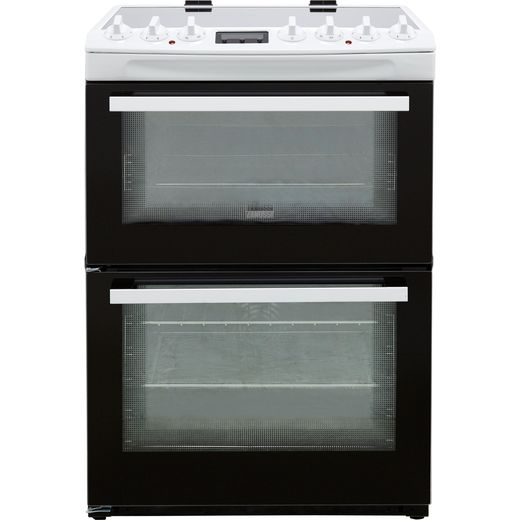 Zanussi ZCV69360WA Electric Cooker with Ceramic Hob - White - A/A Rated