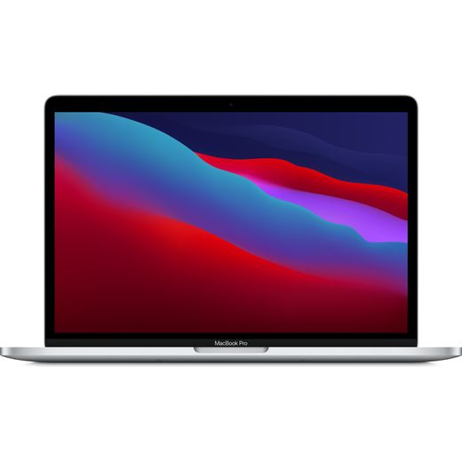 """Apple 13"""" MacBook Pro with Touch Bar [2020] - 512GB SSD - Silver"""